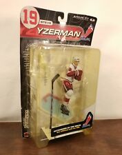 2001 McFarlane NHL series 1 Steve Yzerman Red Wings Super CHASE White Jersey