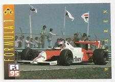 F1 Card - 1983 McLaren - Formula 1 Racing