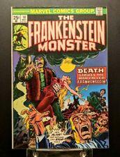 The Frankenstein Monster #10 Fine 1974 Marvel Comics