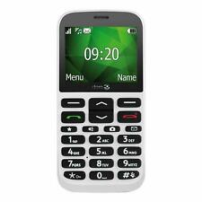 Vodafone Pay as You Go Doro 1370 Big Button Mobile Phone - White (UK Stock) BNIB