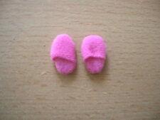 Rosa Hausschuhe Pantoffeln Pink Slippers Dollhouse Puppenstube 1:12 Art 4310