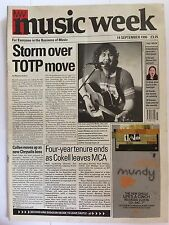 MUSIC WEEK MAGAZINE  14 SEPTEMBER 1996  STORM OVER TOTP MOVE     LS
