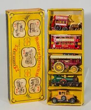 "MATCHBOX LESNEY m.o.y. ensemble cadeau ""G-7 models of yesteryear"". RARE. Boxed/1960's"