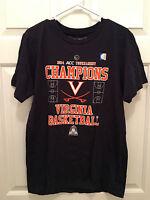 NWT Virginia Cavaliers 2014 ACC Basketball Champions Court Blue T-Shirt Medium