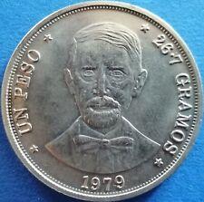 DOMINICAN REPUBLIC 1 PESO 1979 Dominicana Dominikanische Dominicaine Domenicana