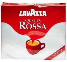 4 X Caffe Lavazza Qualità Rossa da 250 gr Formato Scorta Prezzo Super Scontato