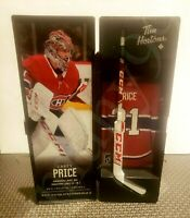 2020 CAREY PRICE TIM HORTONS LIMITED EDITION NHL COLLECTIBLE STICKS / LOCKER SP