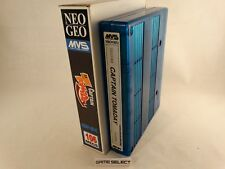 CAPTAIN TOMADAY - NEO GEO MVS NEOGEO ARCADE ORIGINALE + BOX MINI NEOMINIBOX