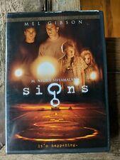 Signs (DVD, 2003) M. Night Shyamalan