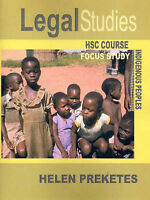 Legal Studies HSC Course: Focus Study Indigenous People (Year: 11, 12)