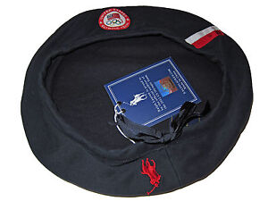 Ralph Lauren Polo 2012 Olympic Navy Blue Beret Official Hat Team USA Cap Medium