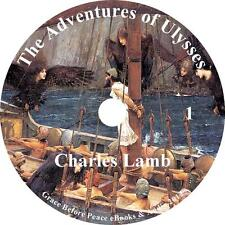 The Adventures of Ulysses, Audiobook by Charles Lamb on 1 MP3 CD Free Shipping