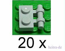 4211061 Lego Platte 4 x 8 Dunkelgrau 4 Stück