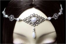 ~ V ~ Forehead Jewellery ° Wedding ° LARP ° HDR ° LOTR ° Circlet ° Arwen ° Tiara ° Tiara ° White ° Diamante ~ V ~