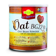 Biogrow Bg22 Oat Beta Glucan Powder 480G X 3 Tins , Lowers Cholesterol Naturally