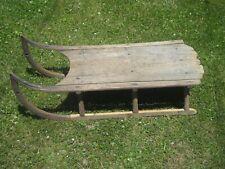 Primitive antique hardwood sled #2