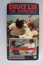 Bruce Lee the Invincible VHS Video Tape