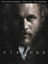 VIKINGS - THE FOURTH SEASON - PART ONE(TEN EPISODES)(DVD-2016,3 DISC)Region Free