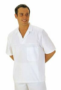 Portwest Bakers Shirt Short Sleeved Kitchen/catering - 2209 Hard wearing