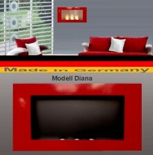 Fireplace Fire place Bio-Ethanol Ethanol GEL Modell DIANA Red Chimney Heater