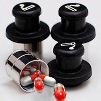 Secret Stash Hidden Diversion Insert Pill Box Containe Xj