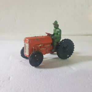 Vintage Dinky ? Diecast tractor with driver 1:43