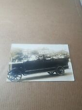 More details for old rp postcard. charabanc and passengers.   t/42