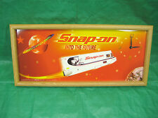 "Limited Edition Snap-On Wall Clock ""Into the Future"" Tool Truck Rocket"