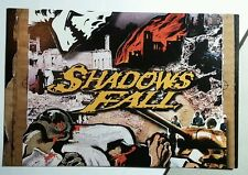 SHADOWS FALL FALLOUT FROM THE WAR MUSIC 4X6 POSTCARD SM POSTER
