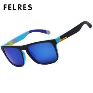 Sport Polarized Square Sunglasses For Men Women Outdoor Driving Fishing Glasses