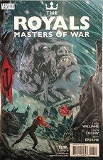 Realeza Masters of War #4 nm- 1º DIBUJO vertigo comics
