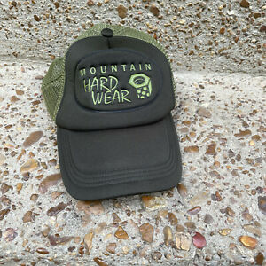 New Mountain Hardwear Green Trucker Hat Snapback Cap Summer Men