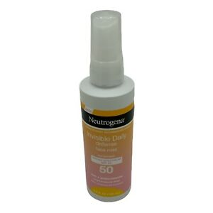 Neutrogena, Invisibly Daily Defense Face Mist Sunscreen SPF50 New Without Box