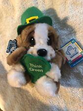 Sad Sam Honey 20239 Applause Plushed Stuffed Animal St. Patricks Day Think Green