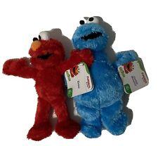 "Sesame Street Elmo & Cookie Monster Playskool Friends 10"" Inch Plush Figures"