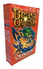 Beast Quest Series 15 Adam blade 4 Books Collection Set, Xeric, Wardok, Quagos..