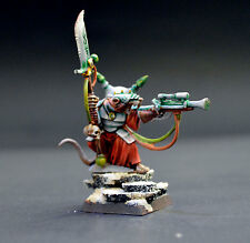 Warlock Skaven Hero Painted in Display quality by pro AOS warhammer 9th Age