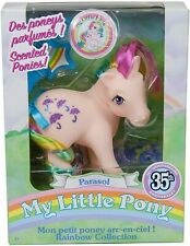 NEW MY LITTLE PONY PARASOL 35TH ANNIVERSARY SCENTED RAINBOW PONIES COLLECTION