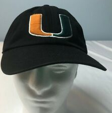 MIAMI UNIVERSITY HURRICANES 47-Brand cap hat SIZE LARGE canes U unstructured