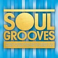 SOUL GROOVES Various Artists NEW & SEALED CLASSIC 70s 80s SOUL 3CD SET DISCO