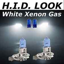 H3 501 55w White Xenon HID Look Fog Light Lamp Bulbs E Marked
