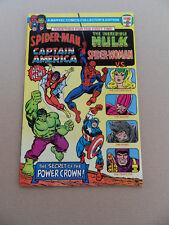 Spider-Man / Cap America / Hulk / Spider-Woman . 7- Eleven Promo . 1981 . VF