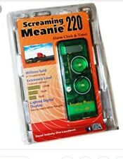 Screaming Meanie Tz-220 Worlds Loudest Alarm Clock Assorted Colors New