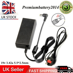 FOR TOSHIBA Satellite C55 C50 C70 C75 L450 C660 Laptop Charger Adapter 19V 3.42A
