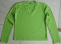 TEE SHIRT FILLE VERT MANCHES LONGUES taille 14 ans  ZONE