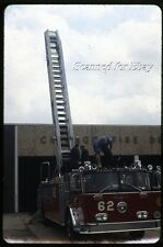 May 84 Chicago CFD FIRE TRUCK  Apparatus Slide  35mm SLIDE