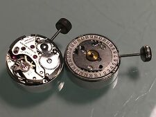 Wristwatch Movement Felsa 4125 Signed Waltham New Old Stock 17 Jewels Wind-Up
