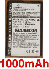 Battery 1000mAh type BL-5CT For Nokia C5-00