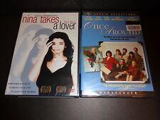 NINA TAKES A LOVER & ONCE AROUND-2 movies-LAURA SAN GIACOMO, RICHARD DREYFUSS