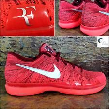 Nike FEDERER Zoom Vapor Flyknit Mens Tennis Trainers Uk 14 Eu 49.5  885725-602